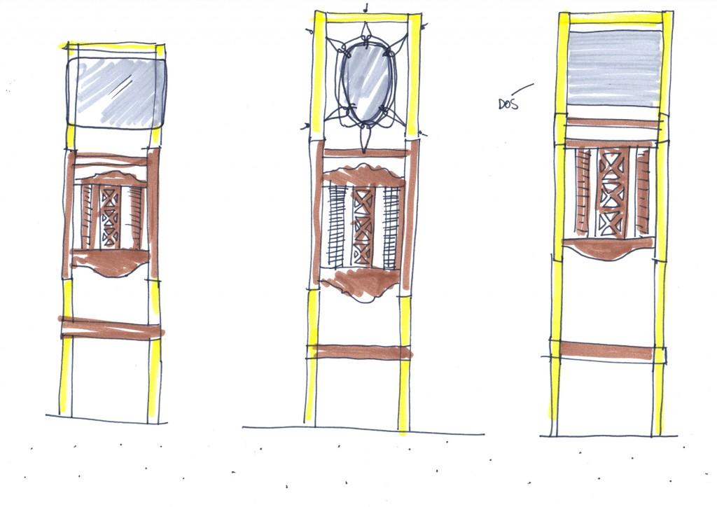 design-revalorisation-miroir-totem-tissage-dessin-1